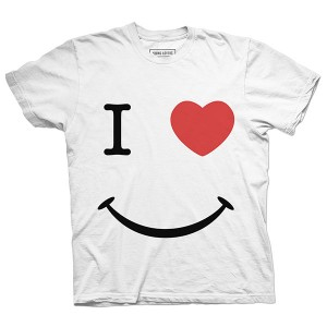 I heart Smiley face NY T-shirt