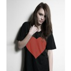 Heart T-shirt Dress Latest Style